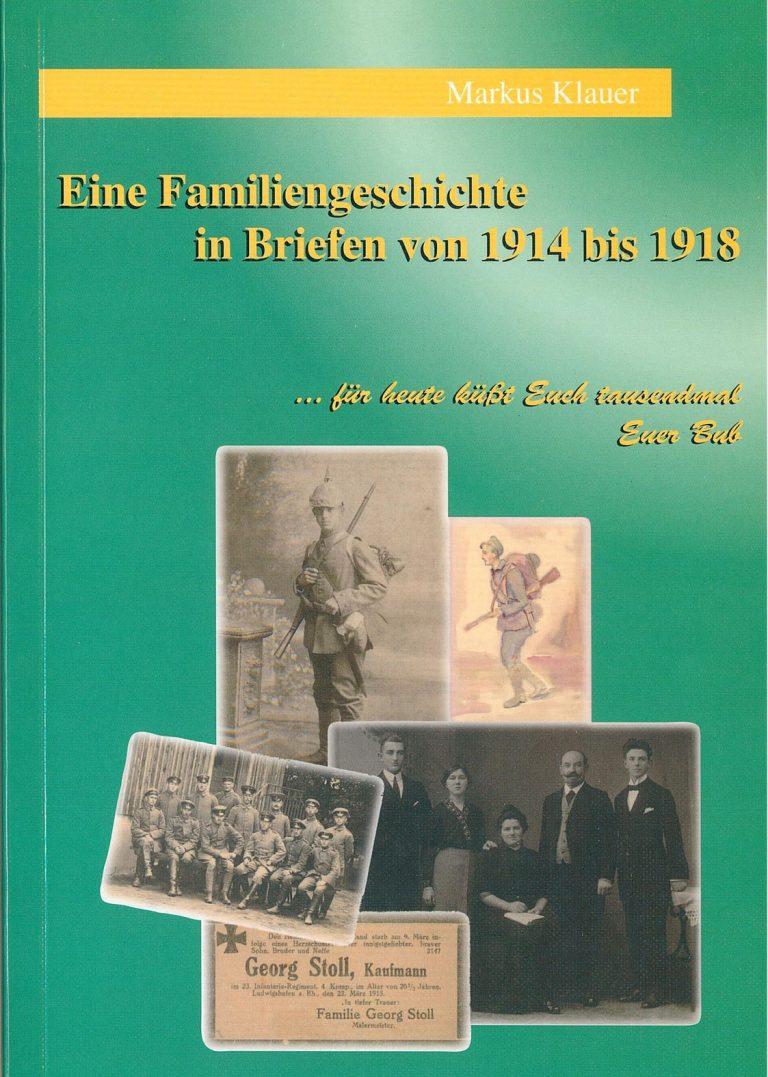"""Markus Klauer """"Eine Familiengeschichte in Briefen"""""""