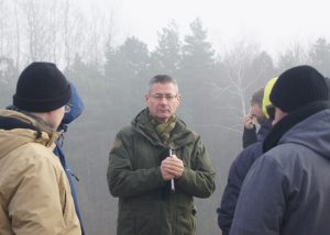 Markus Klauer during a guided tour