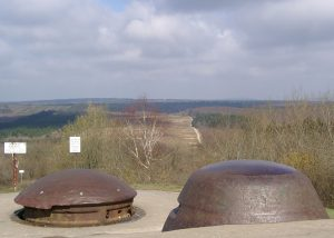 View over the Turrets of Fort Douaumont to the North
