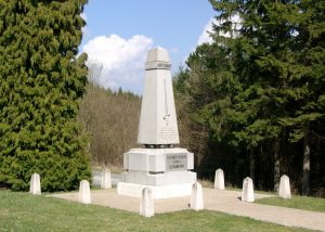 40th French Division's Monument at the Southern Summit of Dead Man's Hill