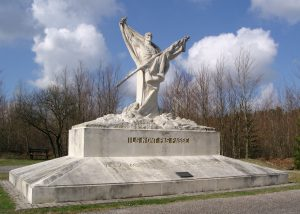 French Monument from 69th Infantry Division at Dead Man's Hill