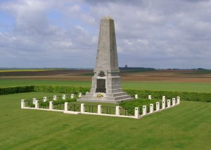 1st Australian Division's Monument at the Edge of Pozières
