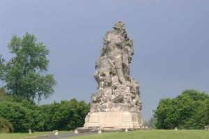 French Monument at Meaux to remember the 1st Battle of the Marne river 1914