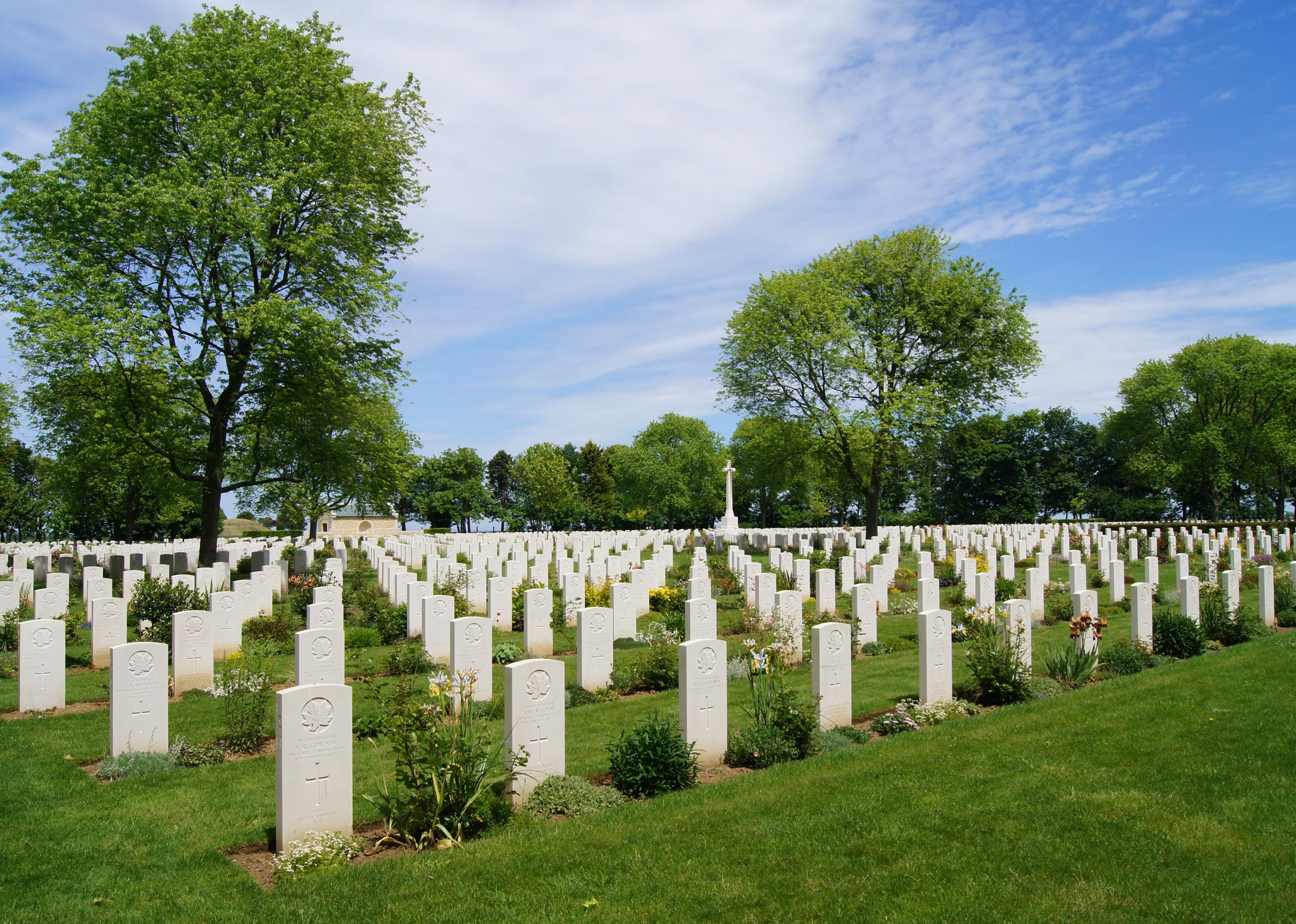 Kanadischer Soldatenfriedhof in der Nähe von Bény-sur-Mer