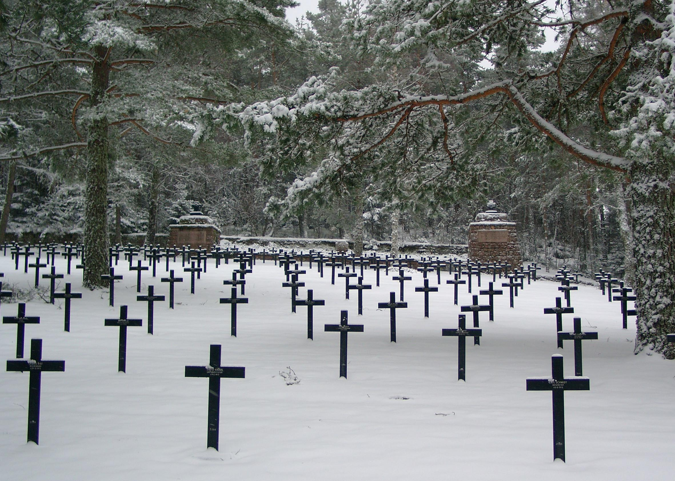 German Military Cemetery near Hohrod