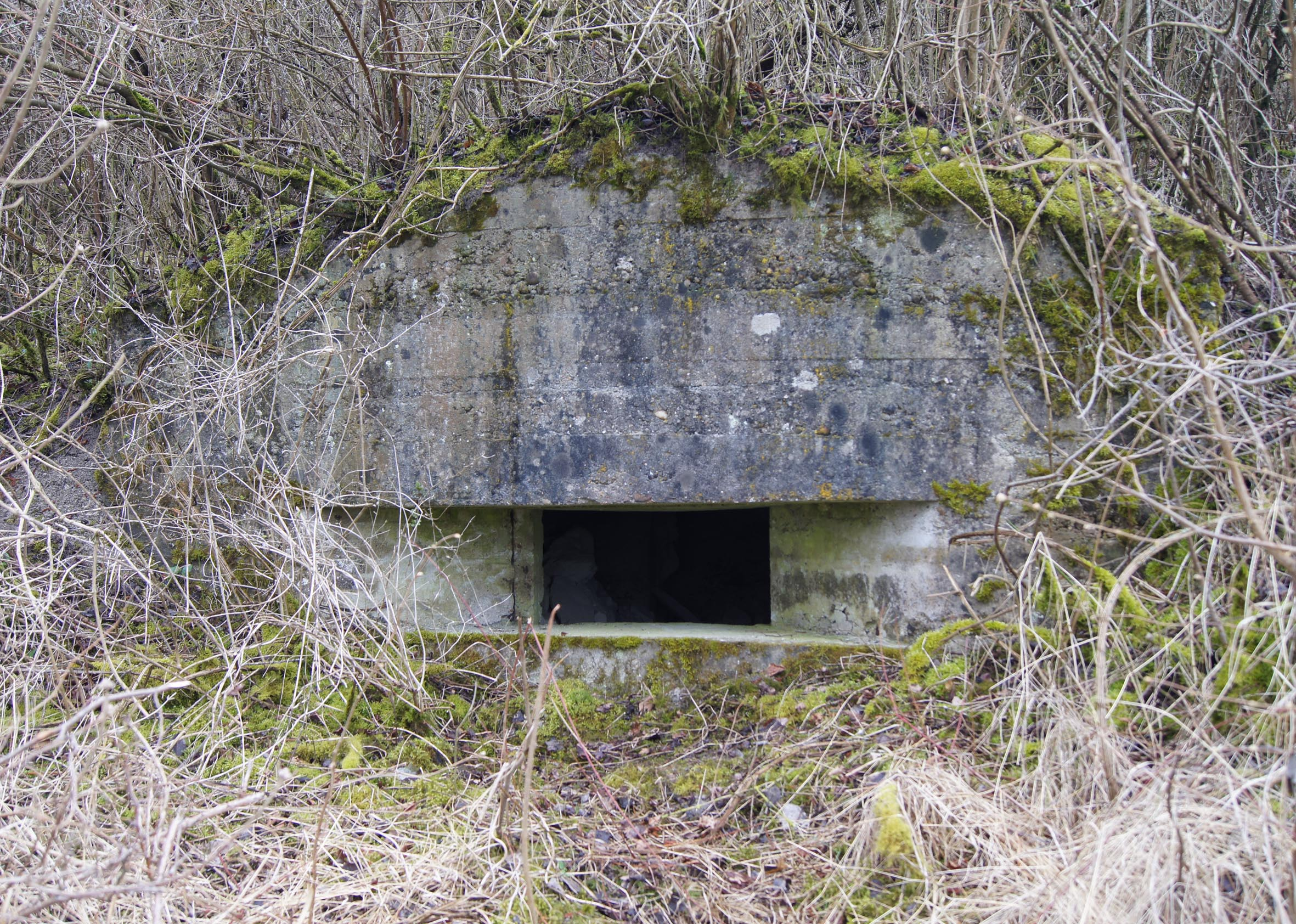 German Observatory or MG-Bunker at the Kanonenberg