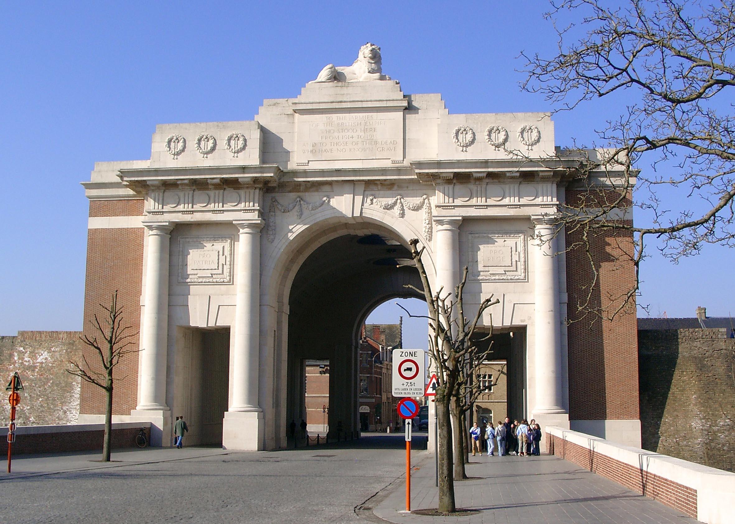 British Memorial to the Missing Menin Gate