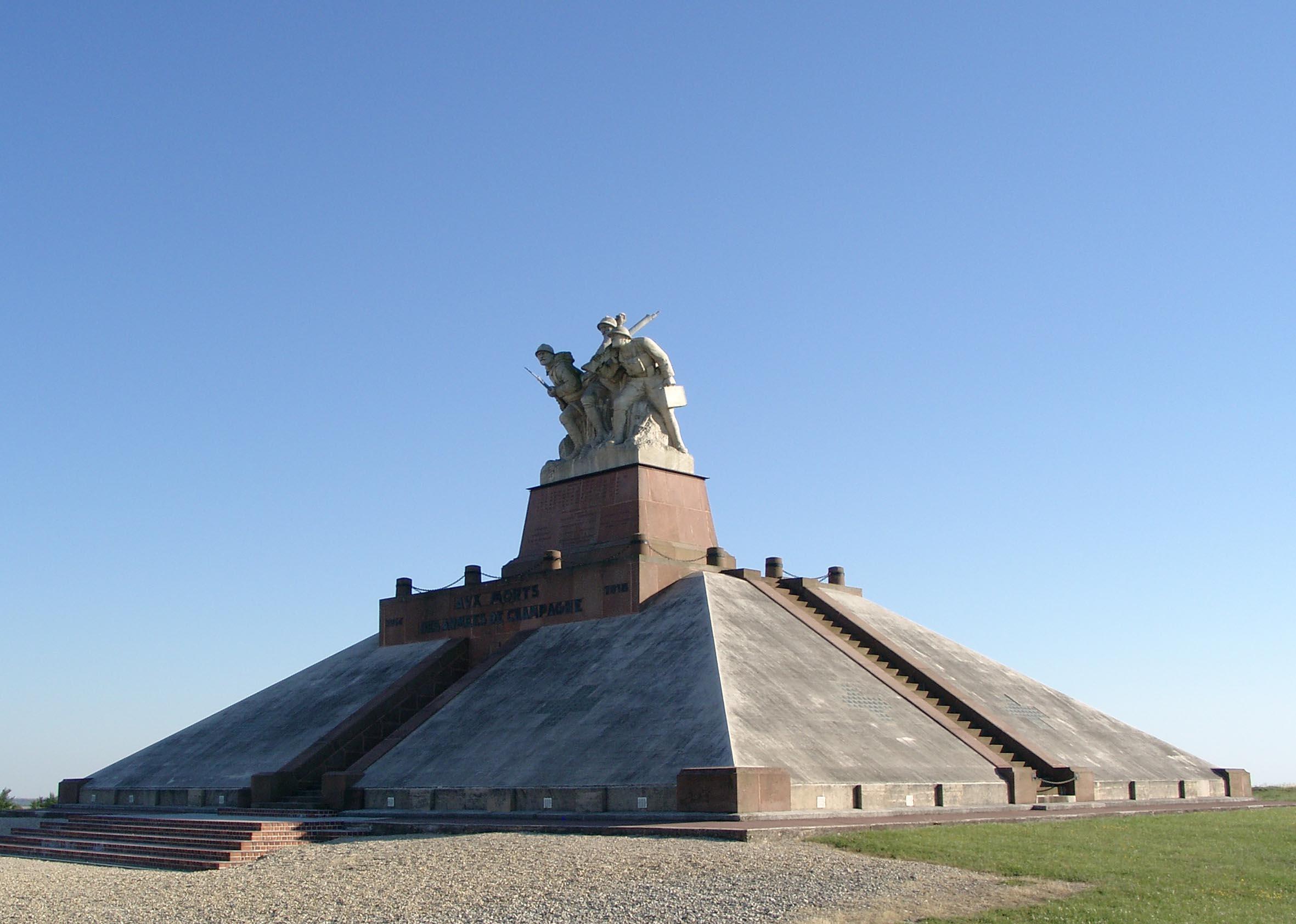 French Monument and Ossuary at the Navarin Farm