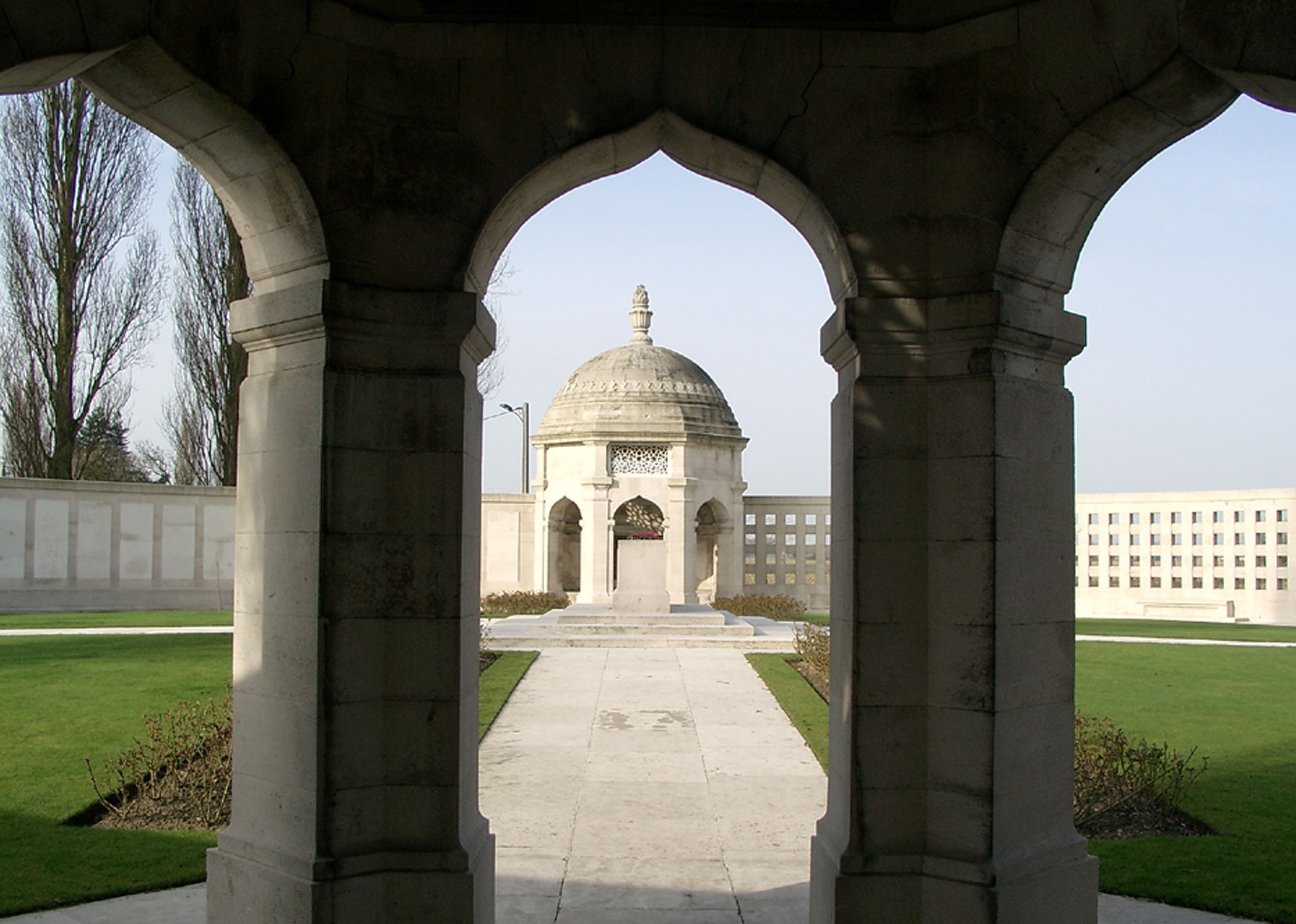 Indian Corps Memorial to the Missing at Neuve Chapelle