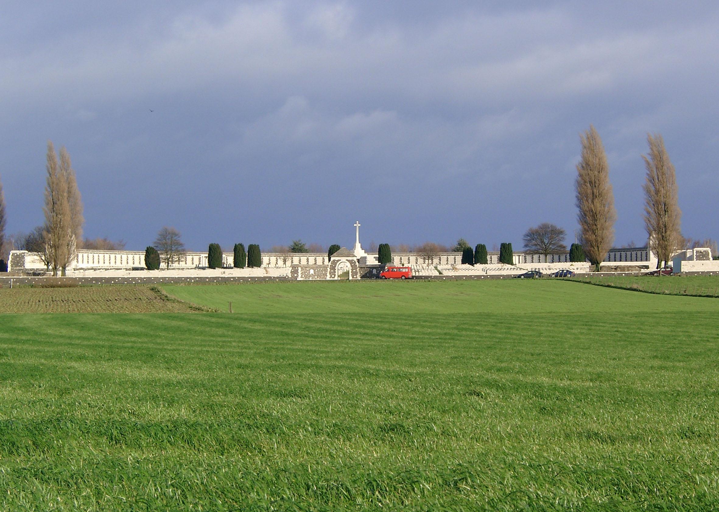 British Military Cemetery Tyne Cot