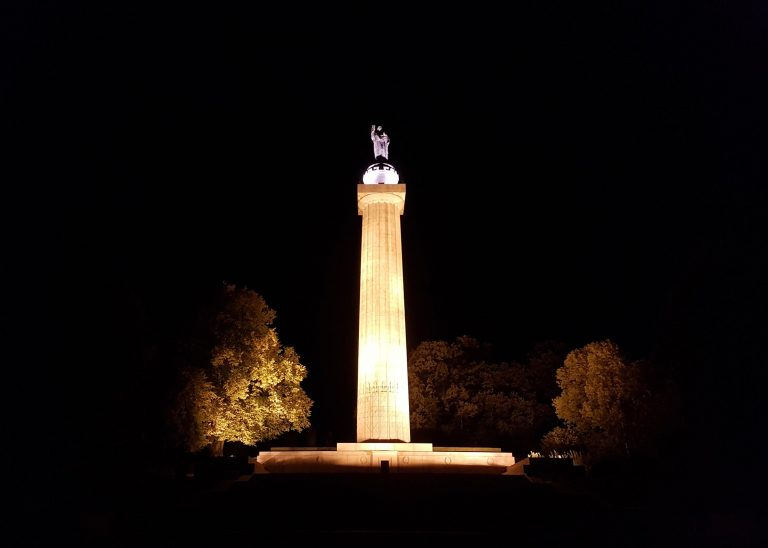 American Monument at Montfaucon at Night 27.09.2018