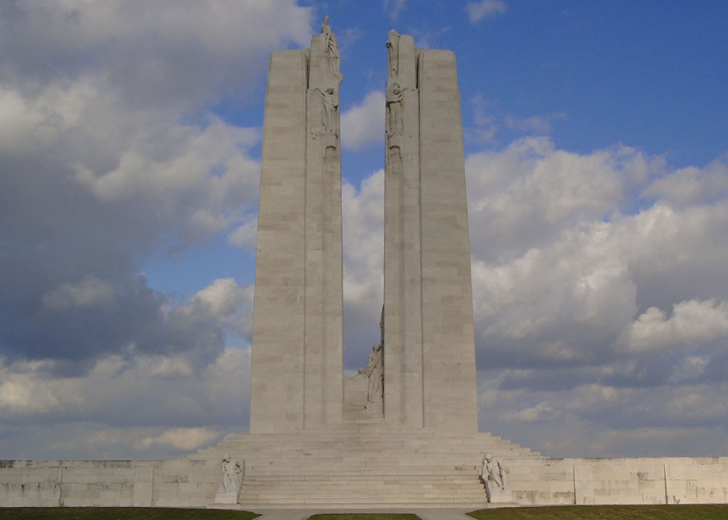Canadian Monument on top of the Vimy Ridge