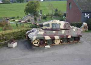 German Kingtiger from Obersturmführer Dollinger