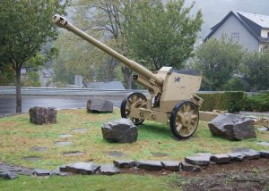 German Anti-Tank Gun close to Clervaux